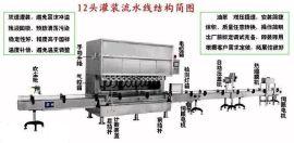 食用油灌装机,中小包装灌装机,液体灌装机