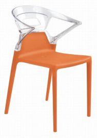 时尚亚克力与塑胶结合的塑胶椅(  -P664)