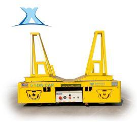 无轨平车蓄电池无轨车电动平车360°转弯轨道平板车无轨遥控车