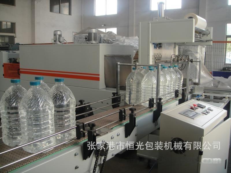 小分子水全自动热收缩包装机 5L 3L的专用膜包机