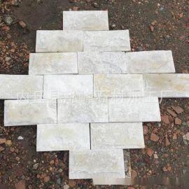 供应白色蘑菇石 白色文化石 白色外墙砖 白沙岩蘑菇石墙面砖