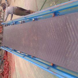 热销大倾角带式输送机 袋装皮带运输机 可伸缩带式输送机