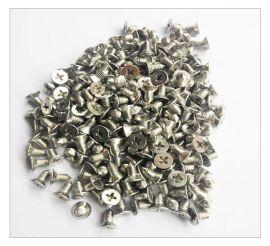 304不锈钢十字槽平/沉头机丝牙带尖螺丝/钉M/m5*10mm 门窗螺丝