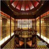 恆溫不鏽鋼酒櫃 別墅恆溫恆溼酒窖 酒架 展示櫃定制