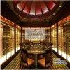 恆溫不鏽鋼酒櫃 別墅恆溫恆溼酒窖 酒架 展示櫃定製