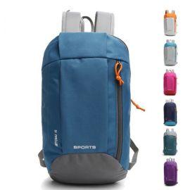 新款双肩背包学生旅行休闲小包潮帆布运动包15L男女书包