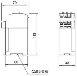 漏电继电器 (DLJ-00K)