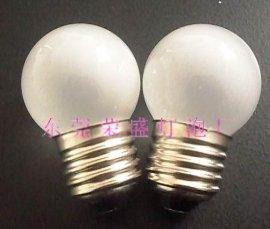 LED G45磨纱玻璃球泡