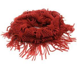 女式针织毛线围巾秋冬季多色围脖套头