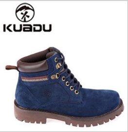 冬季新款工作鞋 真皮户外男鞋 劳保鞋 加钢头