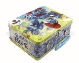 手提式玩具盒 儿童玩具包装铁盒 益智玩具盒