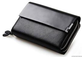 手包,**男士钱包钱夹皮夹真皮钱包男长款手包头层牛皮手机男包包