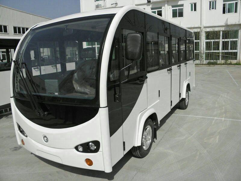 14座帶門電動觀光車,景區使用最多的品牌