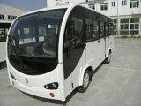 14座帶門電動觀光車,景區遊覽觀光車