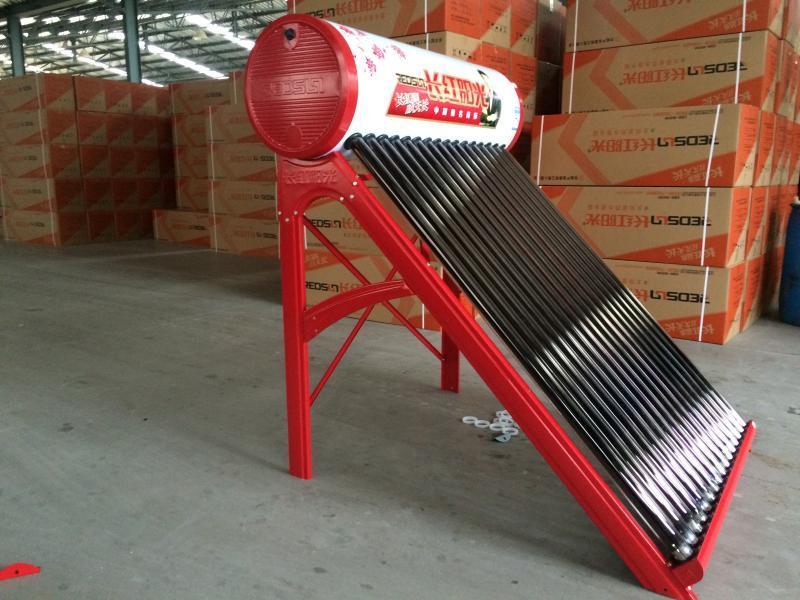 山东太阳能、山东长红太阳能哪家好、山东长红分体式太阳能热水器