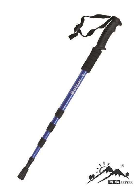 百特BETTER鋁合金直柄登山杖徒步杖柺杖