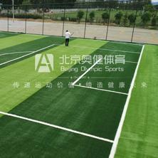 人工草足球场铺装-球场草坪施工-北京奥健体育
