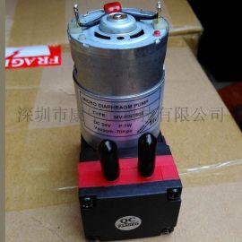 微型隔膜真空泵小型气泵MV-KN750 彩神品牌指定供应商真空泵