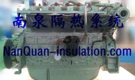 排气歧管防烫隔热防护罩排气管可拆可检修可重复使用隔热套