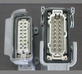 5针6针10针16针24针热流道连接器 24芯热流道模具插头插座 热流道接线盒