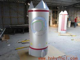 手糊定制玻璃钢火箭模型|厂家定制玻璃钢造型玻璃钢装饰