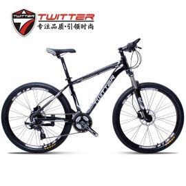 山地自行车TW3900山地车24速油刹骓特变速自行车