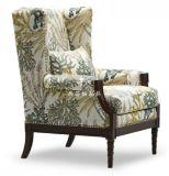 新古典单人沙发后现代实木雕花休闲椅欧式奢华大气别墅形象椅定制