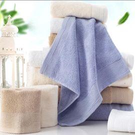迎春雨 纯棉毛巾供应商 运动健身酒店加厚加大毛巾 按需求定制