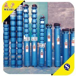 供应QJ立式不锈钢过流深井提水农用喷灌潜水泵 离心泵