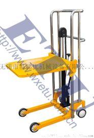ETU易梯优,PS型脚踏轻型工位车 轻型堆高車 手推堆高車