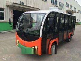 旅游景区游览观光电动十四座全玻璃观光车