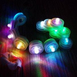 LED装饰灯防水小茶灯小夜灯小旋钮灯电子蜡烛灯