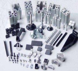 工业铝型材配件、铝合金型材、铝制品