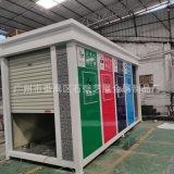 廣州廠家專業定製戶外垃圾房 雕花板垃圾分類屋