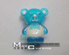 压克力饰品 (28mm 小熊)