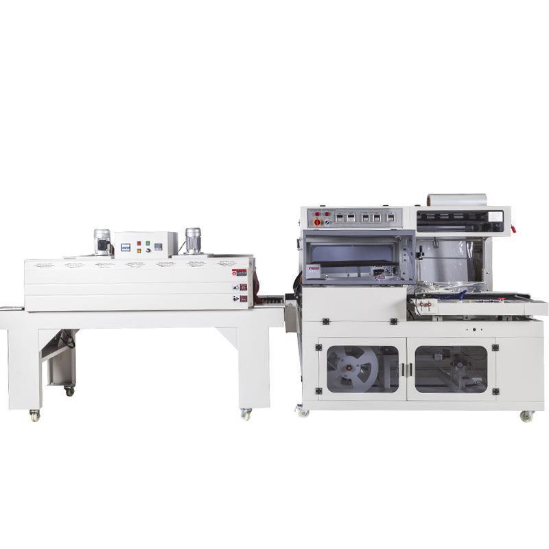 450L型全自动封切收缩机菜板书本画册文具塑封机