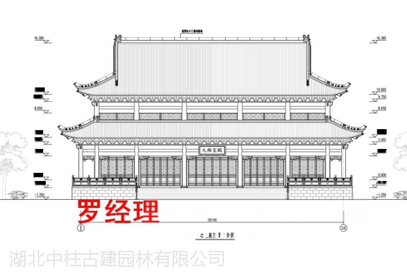 寺廟規劃設計、寺院規劃方案、寺廟總體規劃方案圖