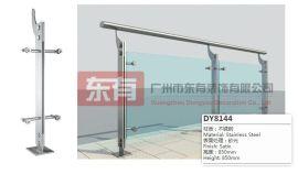 厂家批发促销 玻璃立柱 不锈钢栏杆扶手 楼梯护栏立柱(DY8144)