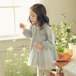 2015秋季新款韓版品牌童裝女童裙公主裙純棉繡花長袖連衣裙81305
