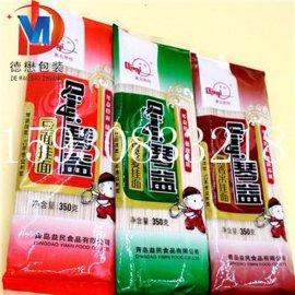 唐山挂面中封风琴袋 面条复合包装袋 食品复合膜厂家