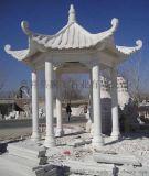 定制漢白玉  石雕亭子 景區 單層  石雕涼亭