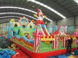 廣東雲浮兒童充氣城堡滑梯100平摩天輪廣場經典款