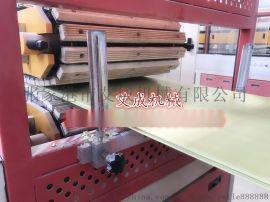 江苏PVC护墙板生产线,竹木纤维快装墙板生产设备