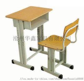 新式钢木多层板课桌椅生产厂家