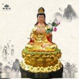 慈航普度天尊神像圓通自在天尊佛像河南豫蓮花雕塑