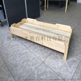 浙江幼才教育厂家直销幼儿园实木儿童床