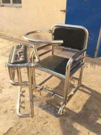 [鑫盾安防]国标不锈钢审讯椅 钥匙树脂版铁质审讯桌椅XD4