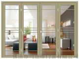 玛迩维铝合金折叠门组合门系列