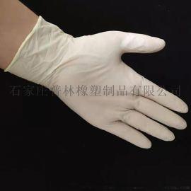 耐用丁腈手套9寸一次性pvc手套无粉加厚乳胶手套