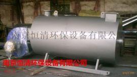 南京恒清卧式沼气热水锅炉